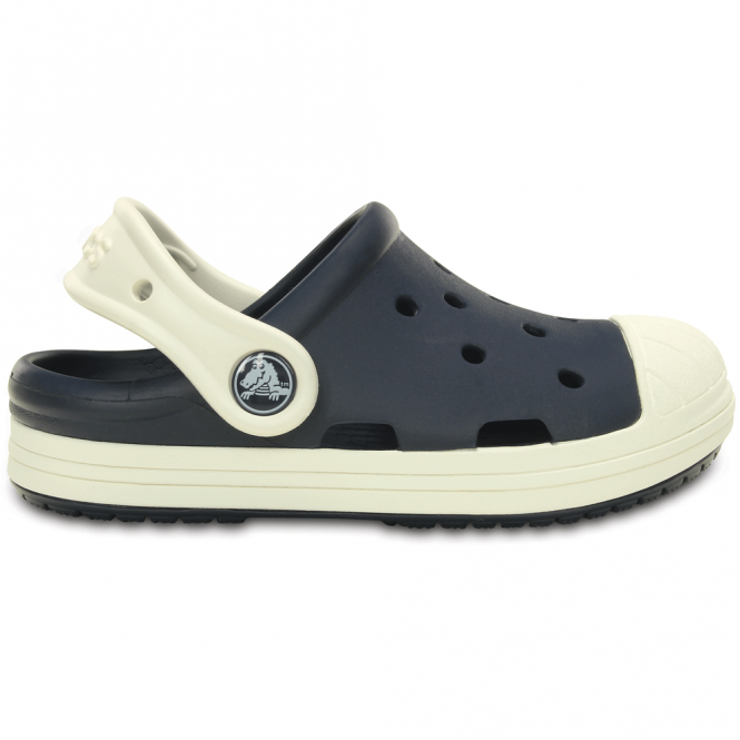 Crocs Bump It Clog Navy/Oyster, vintage sneaker inspired single sized clog