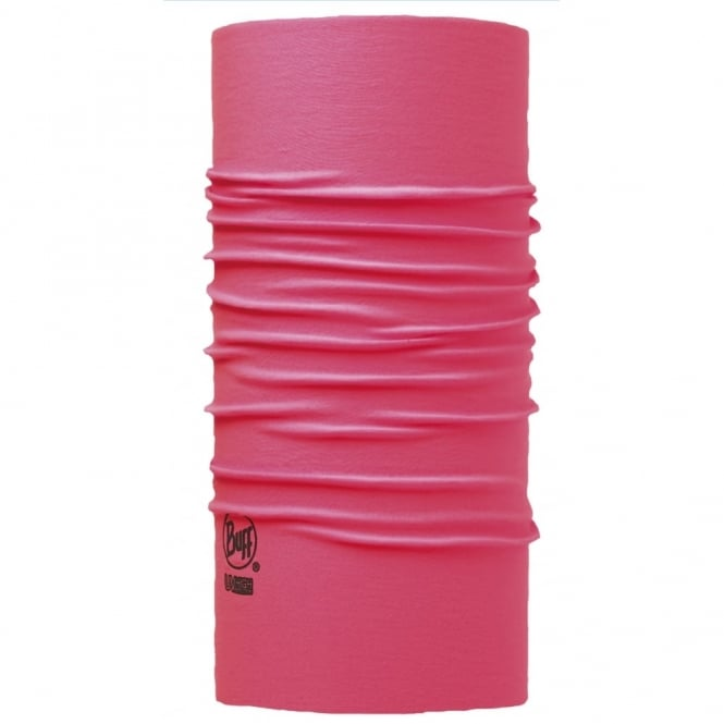 Buff UV Protection Buff Soild Pink Fluor, Protects from 95% of UV rays
