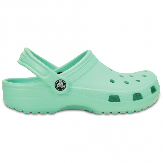 Crocs Classic Shoe New Mint, Original slip on shoe