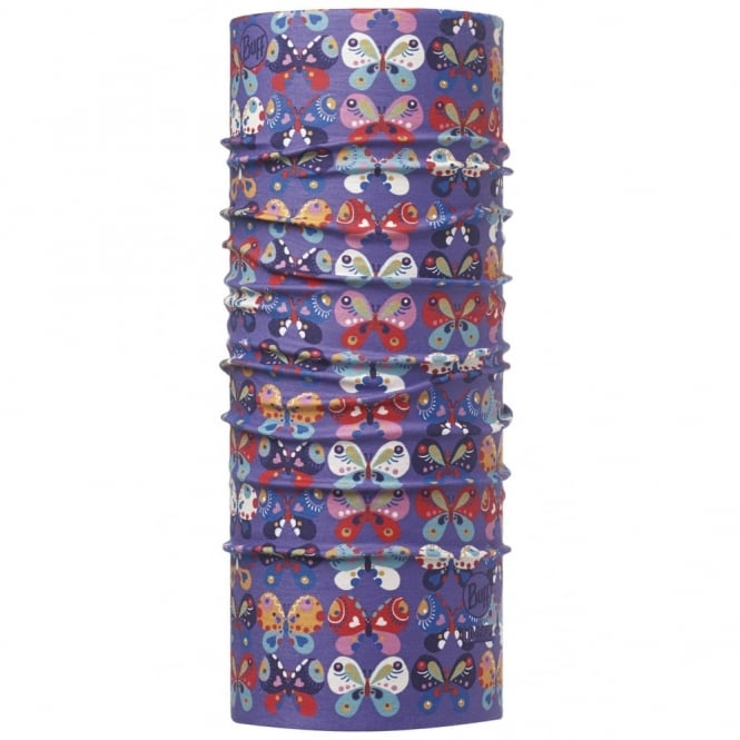 Buff Kids UV Protection Buff Chrysalis Violet, Protects from 95% of UV rays