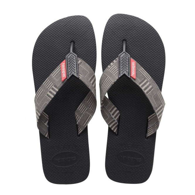 Havaianas Urban Series Black, all the comfort of the Brazil but with wider fabric straps