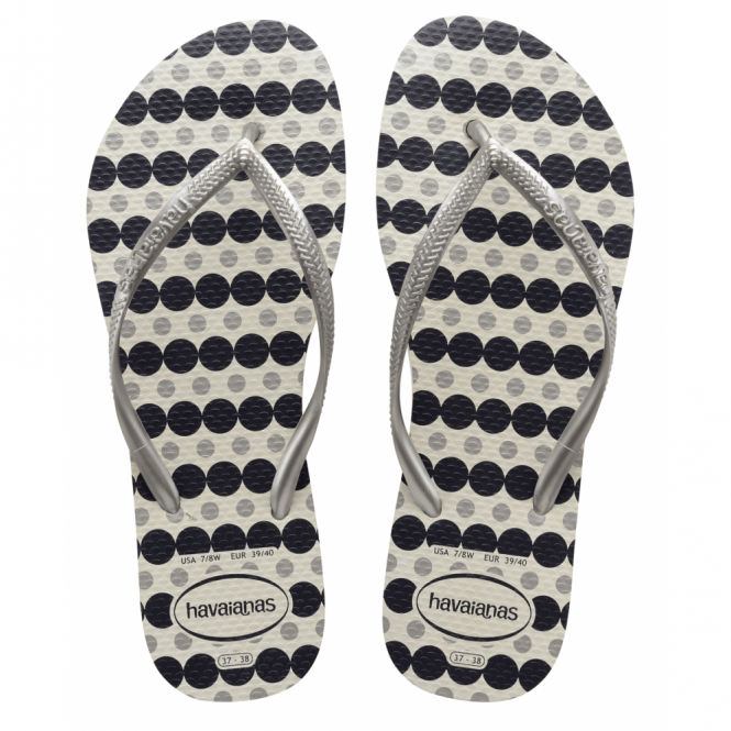 Havaianas Slim Fresh White, the original flip flop designed for ladies