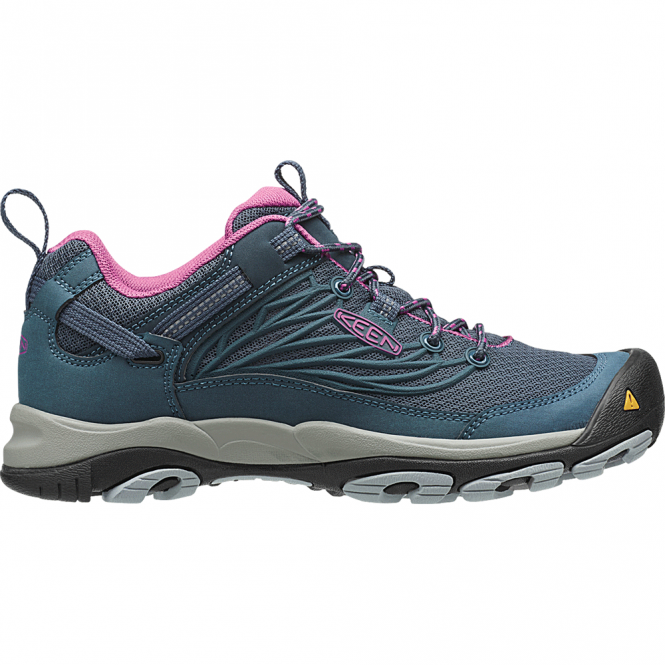 KEEN Womens Saltzman Low Midnight Navy/Dahlia, light low top hiking shoe