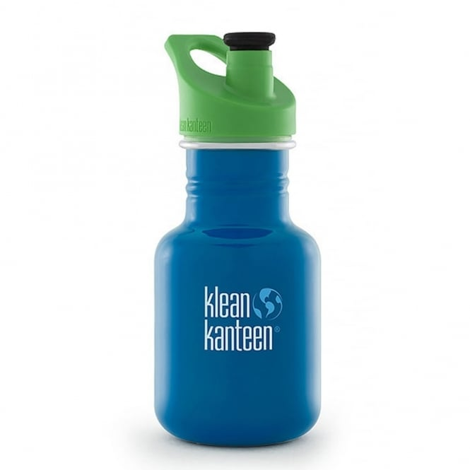 Klean Kanteen 355ml Kids Kanteen Sport Sky Diver, BPA-Free Stainless Steel Sports Bottle great for kids