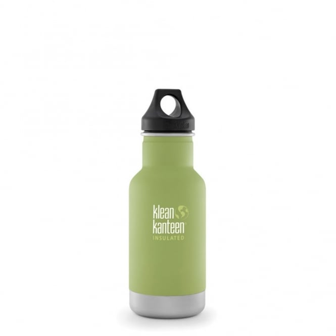 Klean Kanteen 355ml Classic Insulated Bamboo Leaf, Water Bottle great for on the move