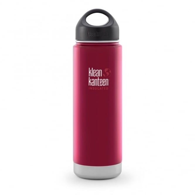 Klean Kanteen 592ml Wide Insulated Roasted Pepper, Double-Wall Vacuum Insulated Bottle & Mug
