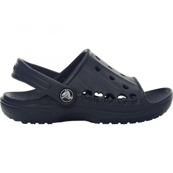 Crocs Kids Baya Slide Navy, the perfect croslite slip on sandal