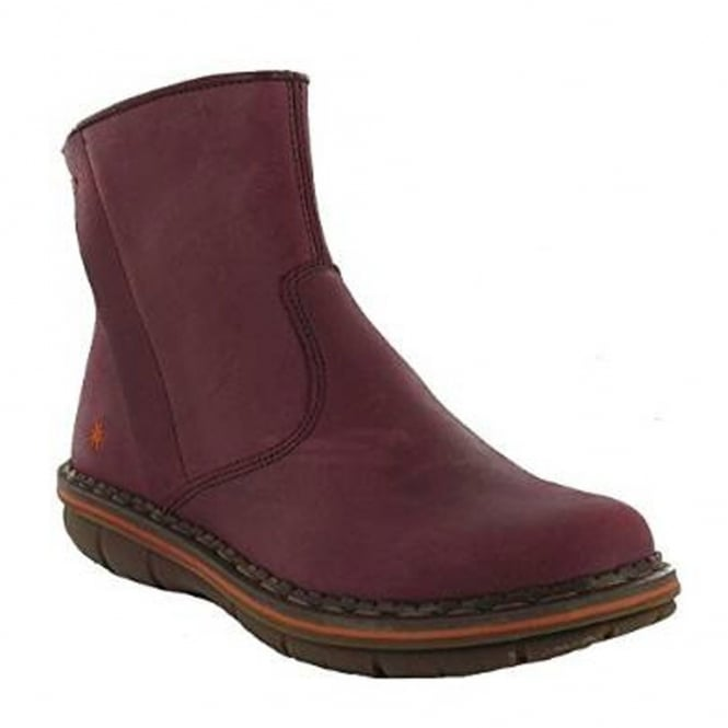 The Art Company 0431 Assen Boot Crazy Horse Rioja, Stylish leather short ankle boot
