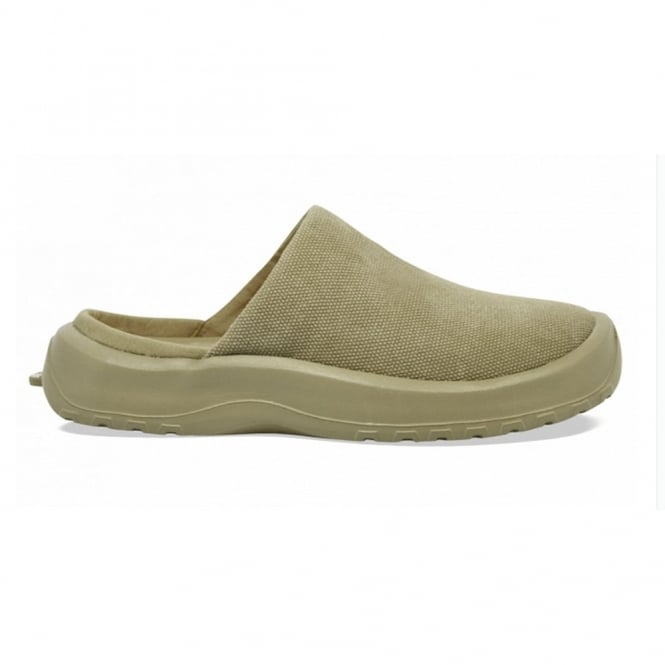 Soft Science Daisy Canvas Khaki, Lightweight yet supportive slip on clog
