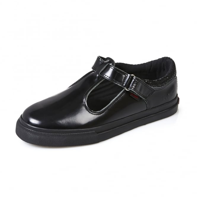 Kickers Tovni T Youth Patent Black