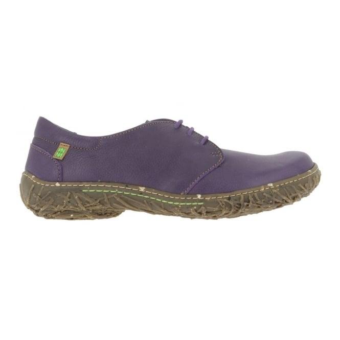 El Naturalista N797 Nido Shoe Purple, womens lace up flat