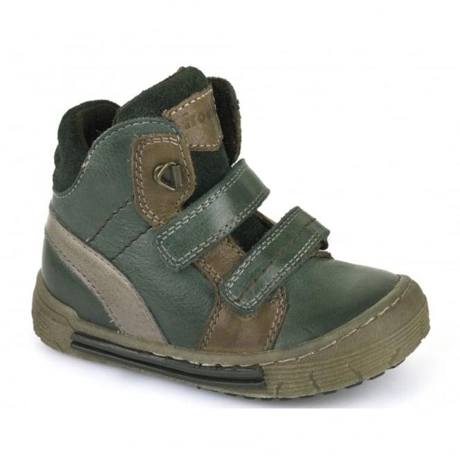 Froddo Boys Velcro Ankle Boot G2110052-2 Green, velcro ankle boot