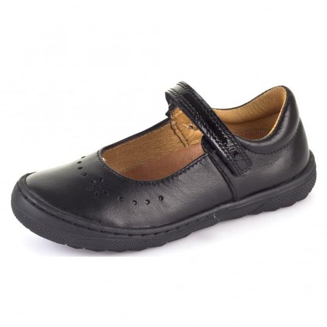 Froddo Ballerina School Shoe G3140053 Black,