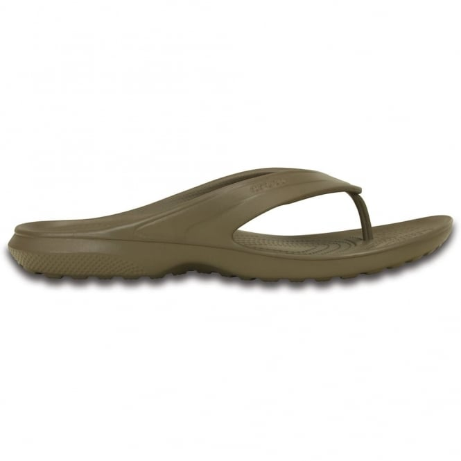 Crocs Classic Flip Walnut, all the comfort of the Classic Clog but in a flip