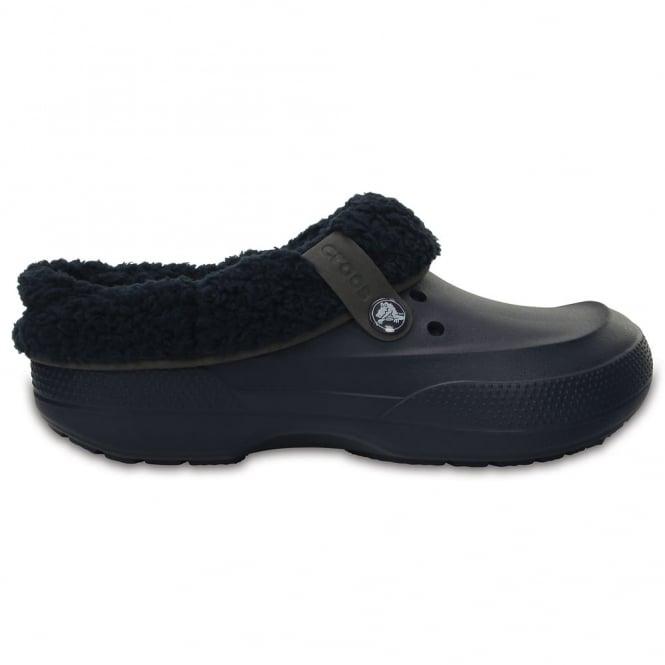 Crocs Blitzen II Clog Navy/Navy, easy to remove liner