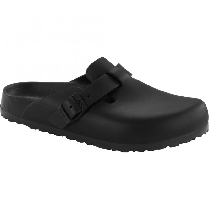 Birkenstock Boston EVA Black 127103, the classic Boston clog but with a EVA twist