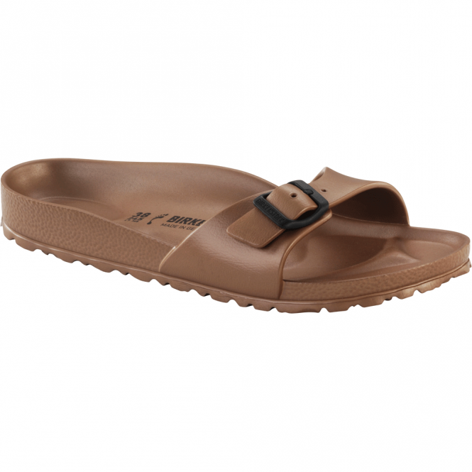 Birkenstock Madrid EVA Metallic Copper 1001504, the beloved classic Madrid but with a EVA twist