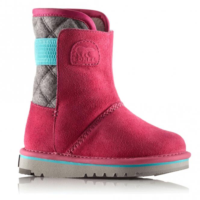 Sorel Kids Newbie NC1873 Glamour, fleece lined water resistant boot
