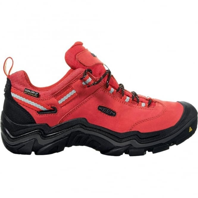 KEEN Womens Wanderer WP Chilli Pepper/Gargoyle, waterproof walking boot