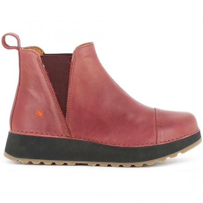 The Art Company 1023 Heathrow Amarante, slip on leather ankle boot