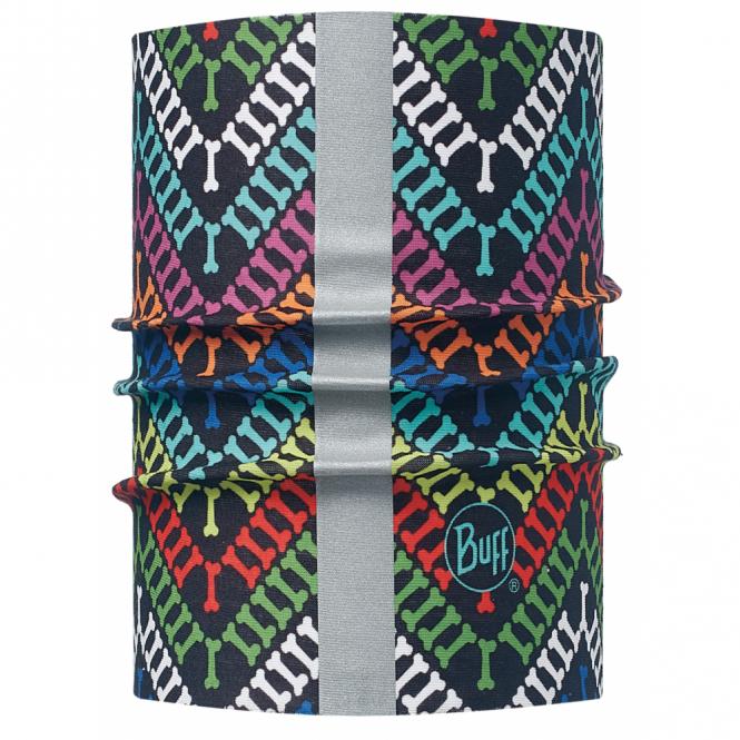Buff Dog Buff R-Yashie Multi (S/M), Neckwear with reflective strip