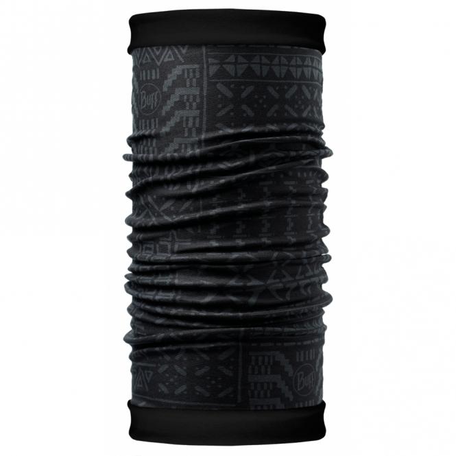 Buff Polar Buff Reversible Gao/Black, 2 Layer cylindrical headgear