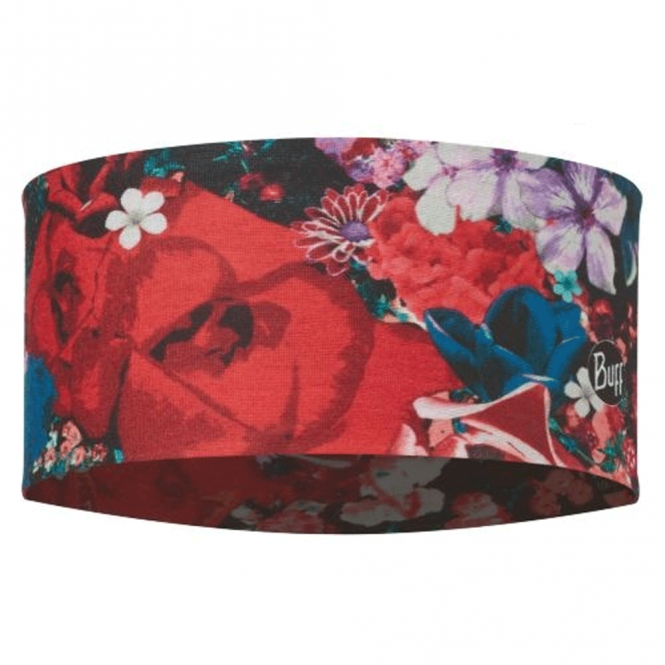Buff UV Headband Valerie Multi, stretchy coolmax fabric for excellent breathability and humidity control