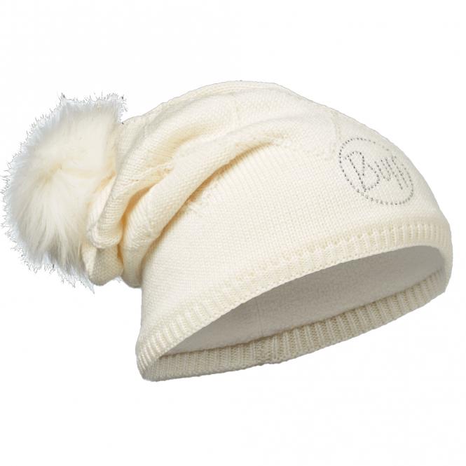 Buff Stella Knitted & Polar Fleece Hat Chic Cru, warm and soft hat with fleece lining