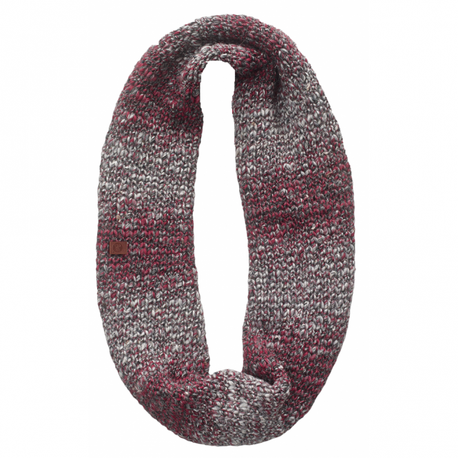 Buff Infinity Buff Blend Neckwarmer Dryn Ruby Wine, Chunky knitted infinity neckwarmer