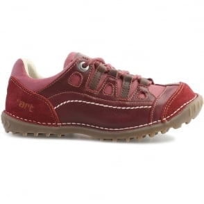 The Art Company 0151 Shotover Shoe Rioja Tibet, Stylish shoe with suede and sinai panels