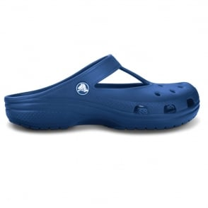 Candace Clog Aegean Blue, feminine version of classic crocs