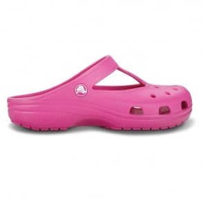Candace Clog Fuchsia, feminine version of classic crocs