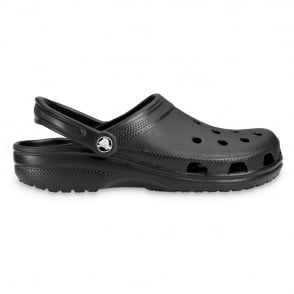 Classic Shoe Black, Original Crocs slip on shoe