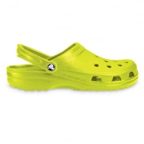 Classic Shoe Citrus, Original Crocs slip on shoe
