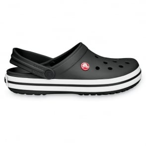 Crocs Crocband Shoe Black, All the comfort of a Classic but with a Retro look