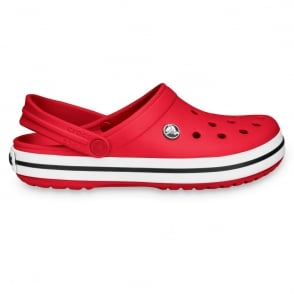 Crocs Crocband Shoe Red, All the comfort of a Classic but with a Retro look
