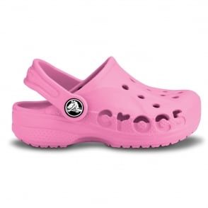 Kids Baya Shoe Pink Lemonade,  A twist on the Classic Crocs slip on shoe
