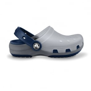 Kids Chameleons Translucent Clog Light Grey/Navy, Innovative colour-changing technology with Crocs comfort