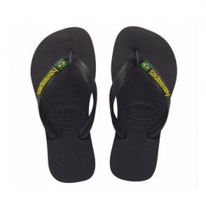 Havaianas Brasil Logo Black, the original flip flop