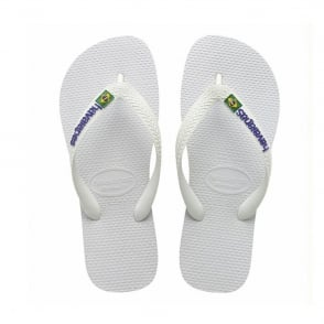 Havaianas Brasil Logo White, the original flip flop