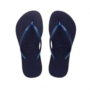 Havaianas Slim Navy, Slender Flip Flops