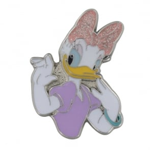 Jibbitz Daisy Duck Metal Glitter