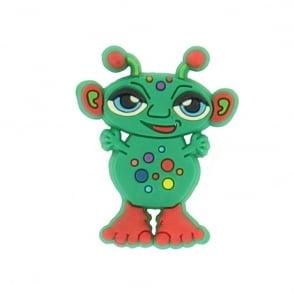 Jibbitz Monster Green