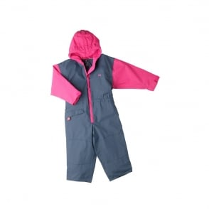 Togz All in One Waterproof Suit Navy/Raspberry