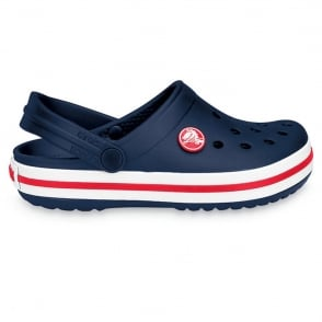 Crocs Kids Crocband Shoe Navy, All the comfort of a Classic but with a Retro look
