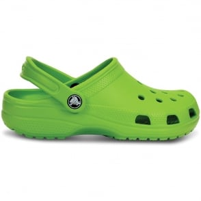 Classic Shoe Volt Green, Original Crocs slip on shoe
