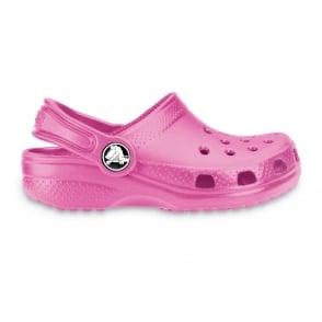 Crocs Kids Classic Shoe Fuchsia, The original kids Croc shoe