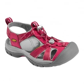 KEEN Womens Venice H2 Barberry/Neutral Gray, wear these in and out of the water for all day comfort