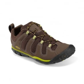 KEEN Womens Haven CNX Brown/Bright Chartre, low profile multi sport outdoor shoe