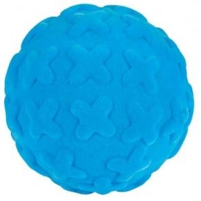 Rubbabu Ball X-Factor Blue, Natural foam toys in simple shapes and bright colours